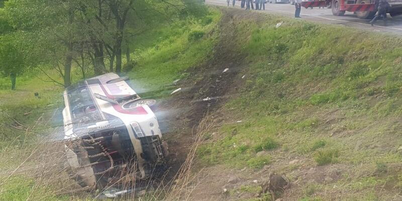 Rusya'da otobüs kazası: 2 ölü, 19 yaralı