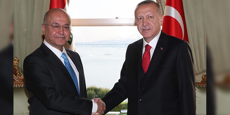 Cumhurbaşkanı Erdoğan'ın Iraklı mevkidaşıyla görüşmesi sona erdi