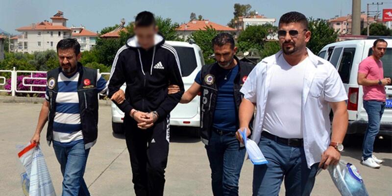 Valizinde eroin bulunan turist yakalandı