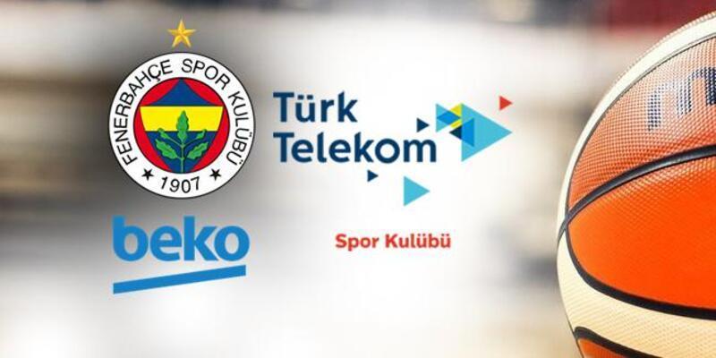 Fenerbahçe Türk Telekom play off maçı saat kaçta, hangi kanalda?