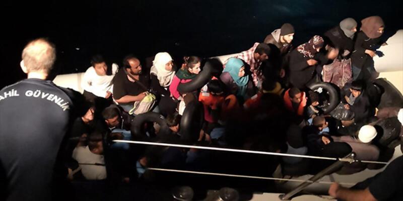 Didim'de 88 düzensiz göçmen yakalandı