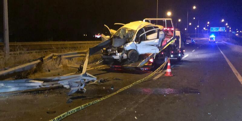 Şanlıurfa'da kaza: 1 ölü, 2 yaralı