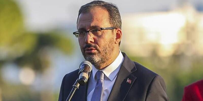 Bakan Kasapoğlu'ndan Nihat Özdemir'e kutlama