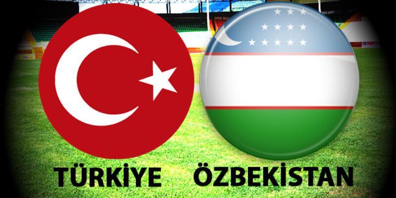 Türkiye Özbekistan maçı muhtemel 11'leri! Milli maç saat kaçta, hangi kanalda?