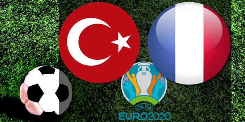 EURO 2020 elemeleri... Türkiye Fransa maçı ne zaman, saat kaçta, hangi kanalda?