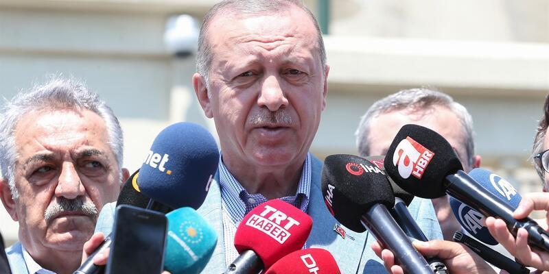 Cumhurbaşkanı Erdoğan'dan TFF Başkanı Nihat Özdemir'e İzlanda telefonu