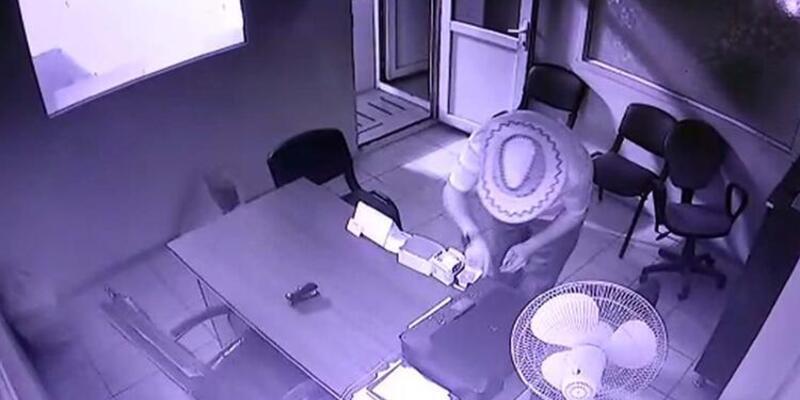 16 güvenlik kamerasını kapatıp çaldıklarıyla şaşkına çeviren hırsız tutuklandı