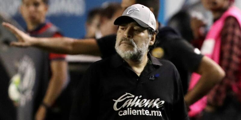 Maradona Dorados'tan ayrıldı