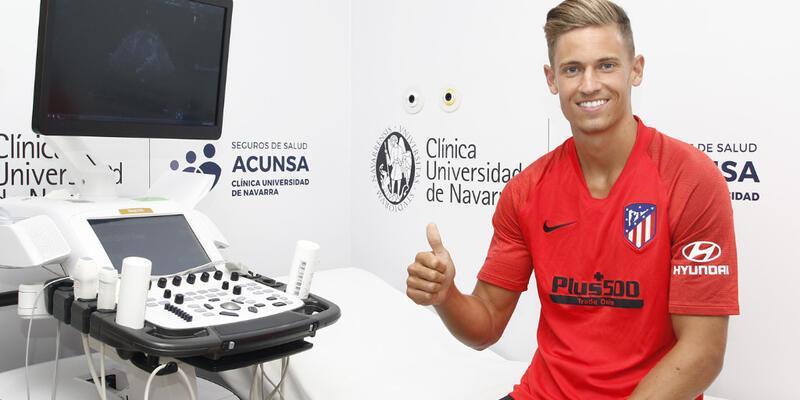 Atletico Real Madrid'den transfer yaptı