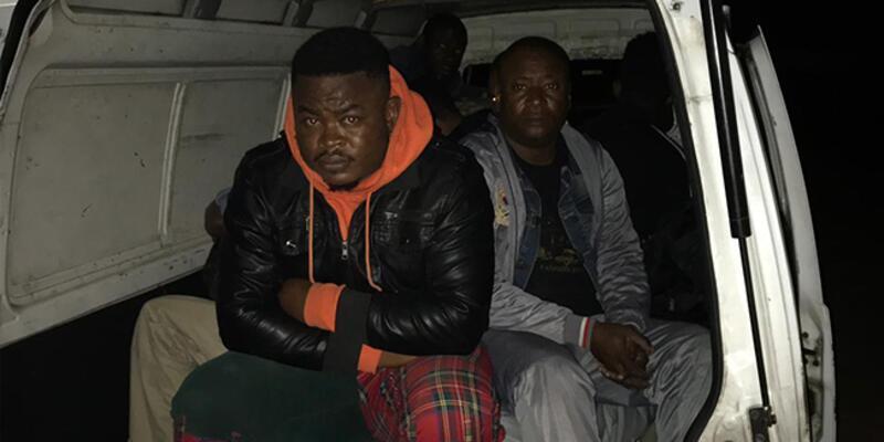 Göçmen olarak gelip, organizatör olan kişiler yakalandı