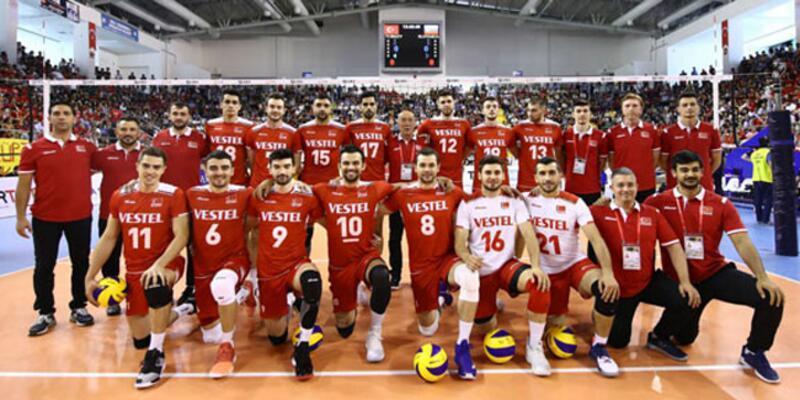 A Milli Erkek Voleybol Takımı finale yükseldi!