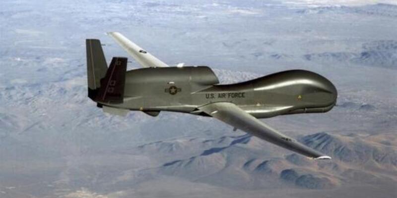 İran ABD İHA'sının görüntüsünü yayınladı! Değeri 200 milyon dolar!