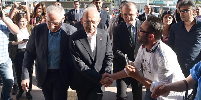 CHP lideri Kılıçdaroğlu seçim sonuçlarını Ankara'dan takip ediyor