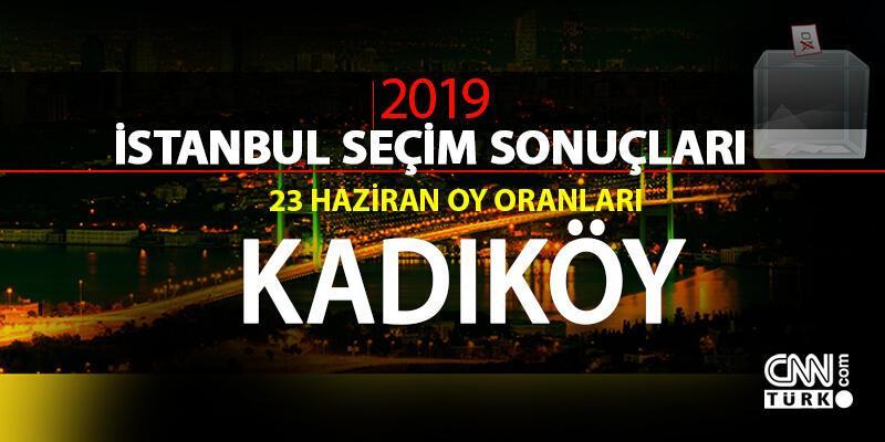Kadıköy seçim sonuçları 2019… İstanbul Kadıköy oy oranları