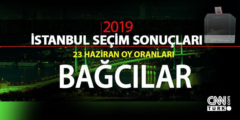 İstanbul seçim sonuçları: Bağcılar – 23 Haziran İBB Başkanlık seçimi Bağcılar oy oranları