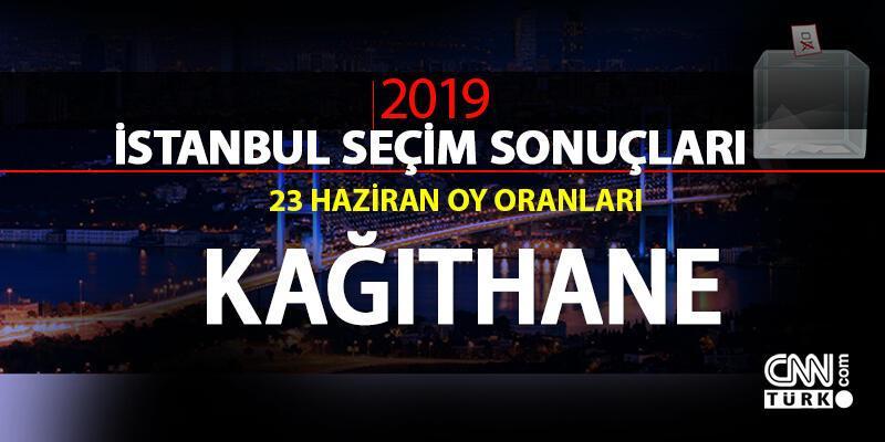 Kağıthane seçim sonuçları 2019… İstanbul Kağıthane oy oranları