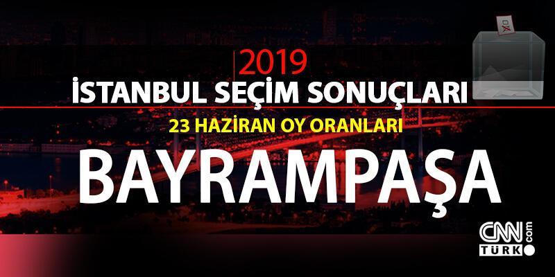 23 Haziran İBB Başkanlık seçimi Bayrampaşa oy oranları - İstanbul seçim sonuçları: Bayrampaşa
