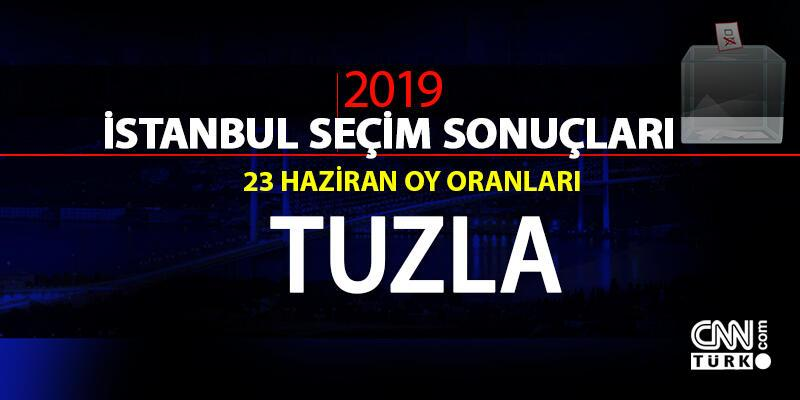 Tuzla seçim sonuçları 2019… İstanbul Tuzla oy oranları