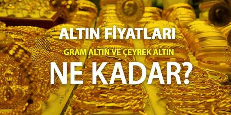 Çeyrek altın ne kadar, bugün gram altın kaç TL? 25 Nisan 2021 anlık güncel altın fiyatları