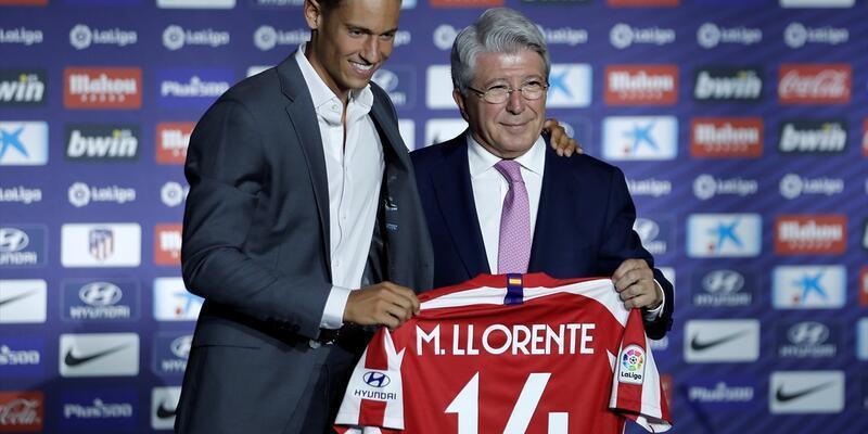 Marcos Llorente Atletico Madrid'de