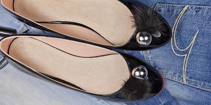 Babet ayakkabı giyerken bir kez daha düşünün!