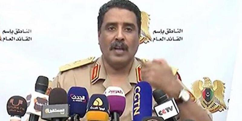 LibyalıHaftergüçlerinin sözcüsünden Türkiye'ye tehdit