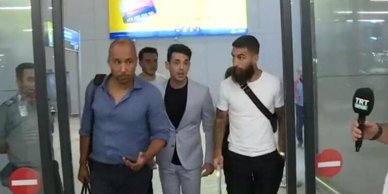 Jimmy Durmaz, Galatasaray için İstanbul'a geldi