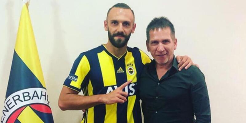 Fenerbahçe'de Vedat Muriç formayı giydi!