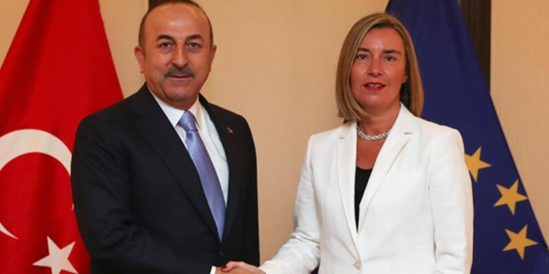Bakan Çavuşoğlu, Mogherini ile telefonda görüştü