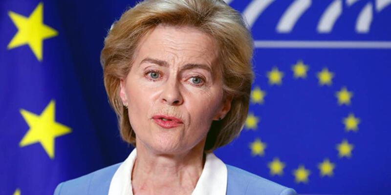 Ursula von der Leyen AB komisyonu başkanı oldu