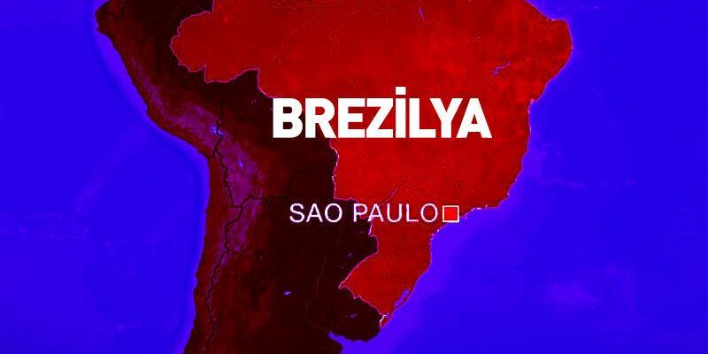 Brezilya'da aracını protestocuların üzerine süren şoför tutuklandı