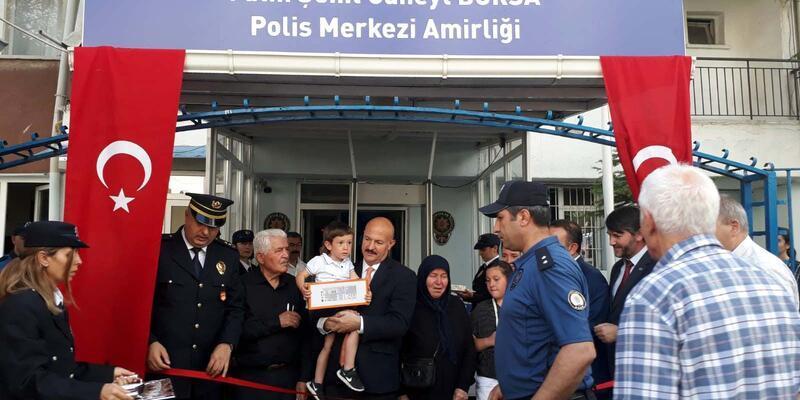 15 Temmuz şehidinin ismi polis karakolunda yaşayacak