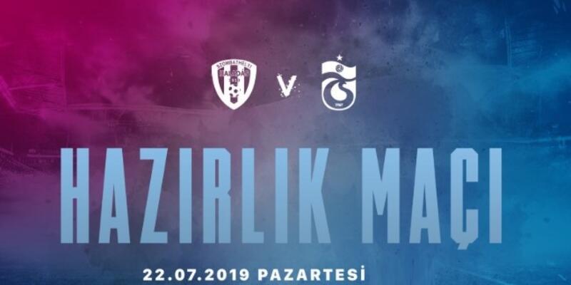 Trabzonspor Haladas hazırlık maçı ne zaman, saat kaçta, hangi kanalda?