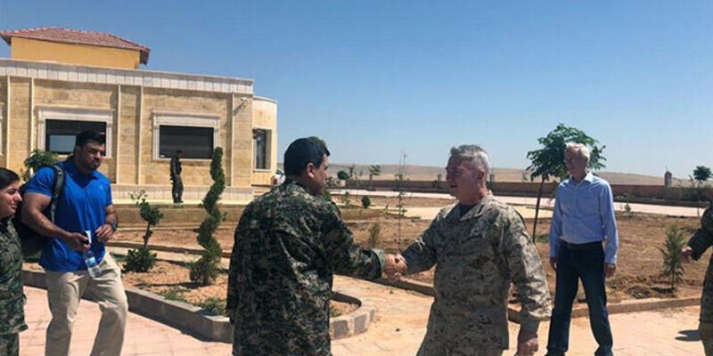 ABD'li general, Jeffrey'nin Ankara ziyareti sırasında YPG/PKK elebaşıyla görüştü