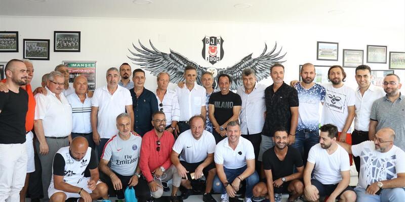 Eski Beşiktaşlı futbolcular Hatay'da