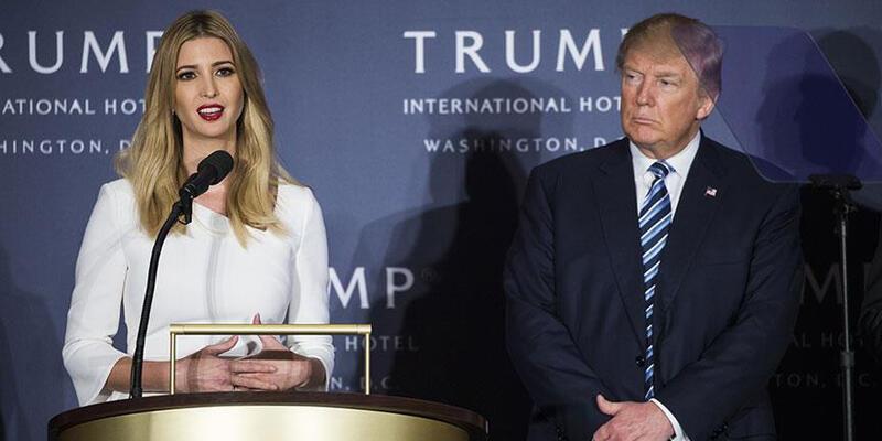 Ivanka Trump'ın 'Birleşik Krallık' hatası sosyal medyada olay oldu