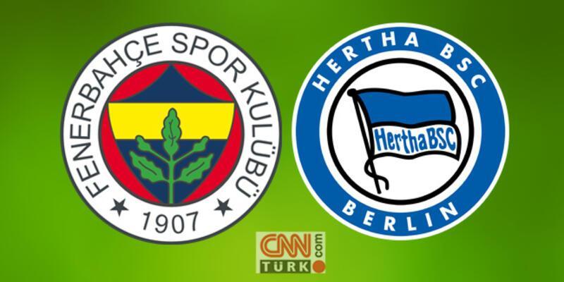 Hertha Berlin Fenerbahçe maçı canlı yayın saat kaçta, hangi kanalda izlenecek?