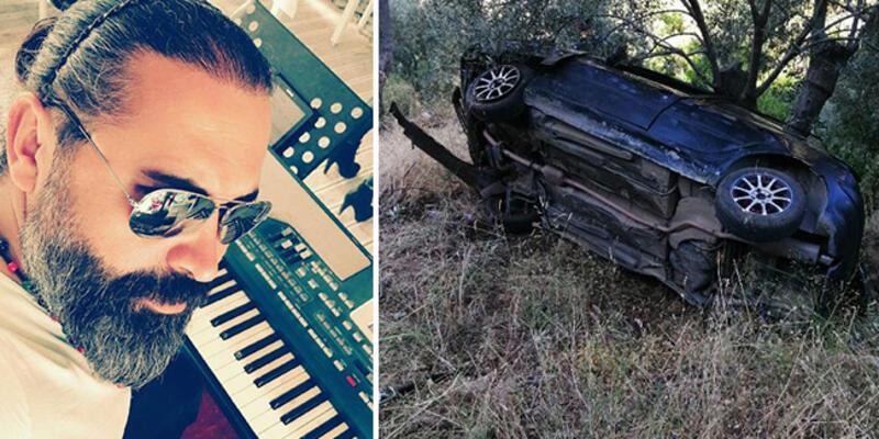 Otomobili uçuruma yuvarlanan müzisyen öldü