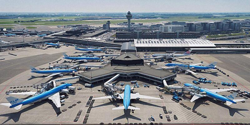 Schiphol Havalimanı'nda yakıt sistemi çöktü
