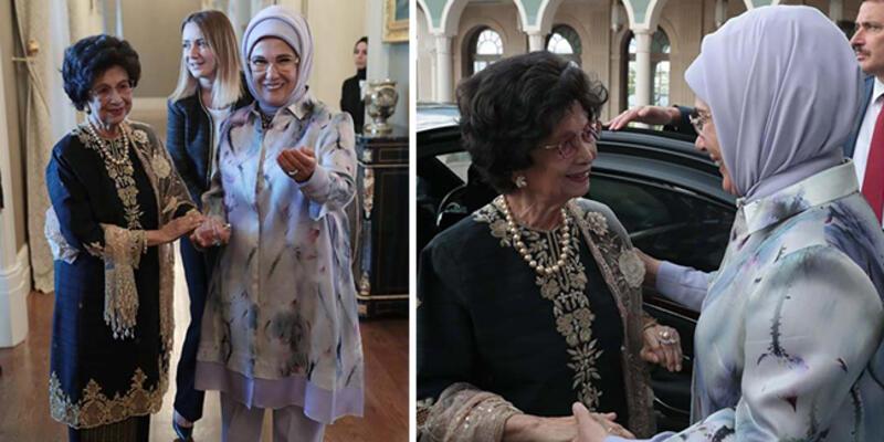 Emine Erdoğan Malezya Başbakanı'nın eşi ile görüştü