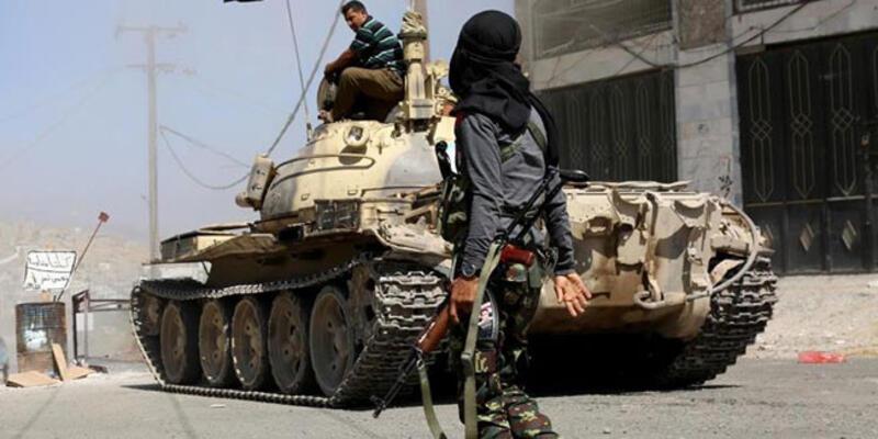 Suudi Arabistan'da Husilere ait bir İHA düşürüldü