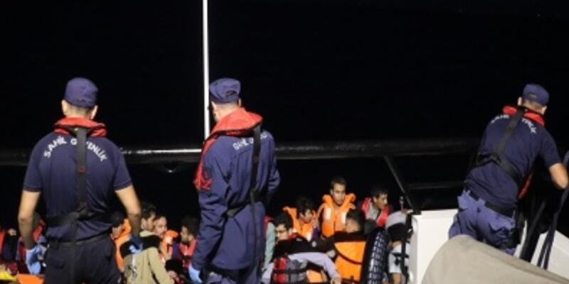 Balıkesir'de 34 kaçak göçmen yakalandı