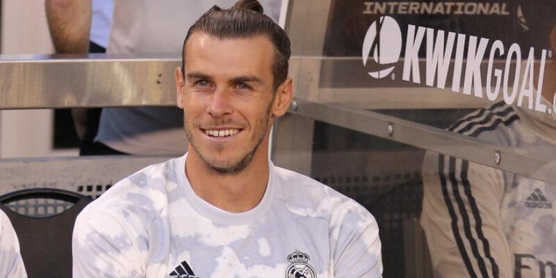 Gareth Bale Audi Cup'ta yok