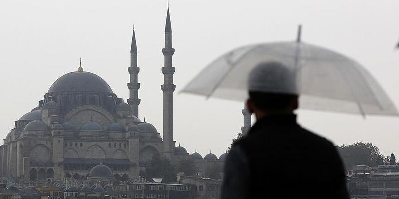 İstanbul'da son dakika yağmur sürprizi