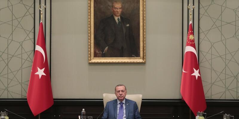 MGK toplantısı Cumhurbaşkanı Erdoğan başkanlığında toplandı