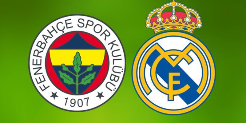 Fenerbahçe Real Madrid maçı canlı yayın hangi kanalda saat kaçta?