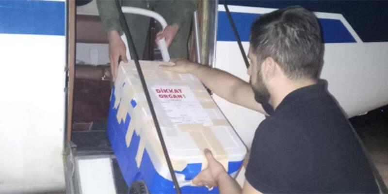TSK uçağı organ nakli için havalandı