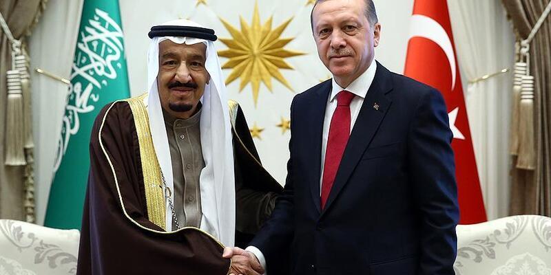 Erdoğan, Suudi Arabistan Kralı Selman ile telefonda görüştü