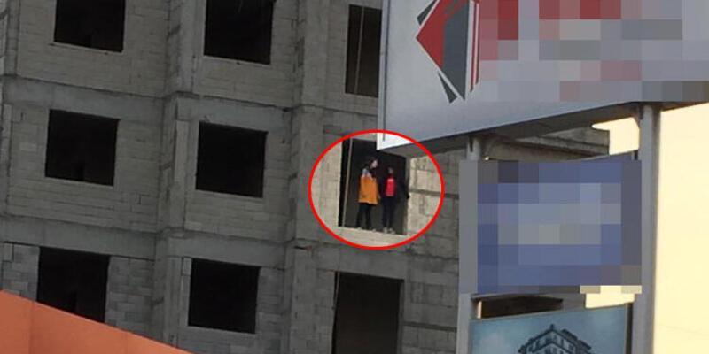 Kayseri'de 13 ve 16 yaşındaki iki kız çocuğu 4. kattan atladı