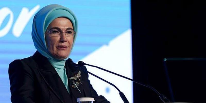 """Emine Erdoğan'dan """"Salda Gölü"""" paylaşımı"""
